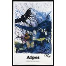 Alpes, French Railways (Poster)