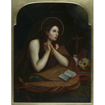 Oil painting - The Penitent Saint Mary Magdalen