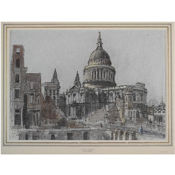 Drawing - St Paul's Cathedral