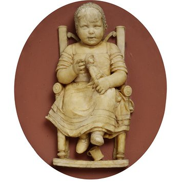 Relief - A Child (probably the artist's sister, Mary Ann)