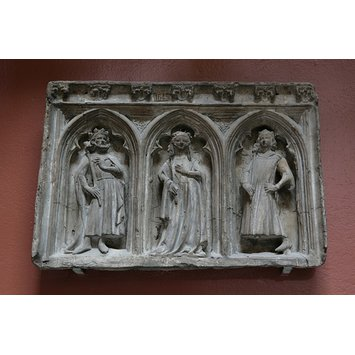 Copy of a Relief - Weepers from the tomb of John of Eltham, Earl of Cornwall
