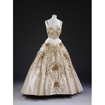 Evening dress - The Flowers of the Fields of France