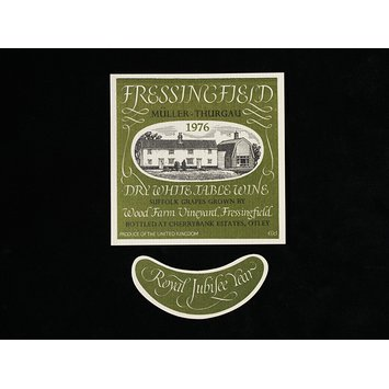 Print - Wine Label for Fressingfield Dry White Wine