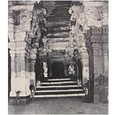 Entrance to the thousanded pillared Mundapam in the great Pagoda (Photograph)