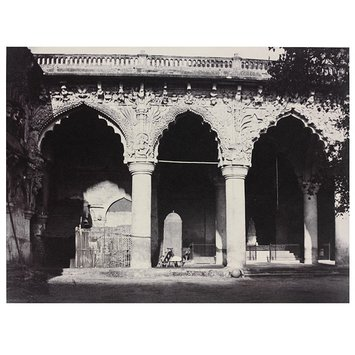 Photograph - Facade on the W. Side of the Nayakar Durbar Hill