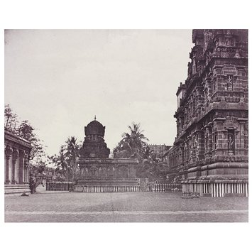Photograph - Northern side of the great central Tower and the Temple of Parvati