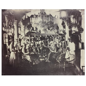 Photograph - H. E. The Tondiman Rajah in Durbar