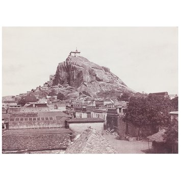 Photograph - View of the Rock from the East