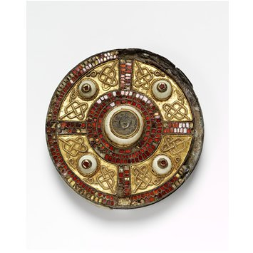 Disc brooch - The Milton Brooch