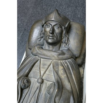 Plaster cast - Effigy of Henry VII