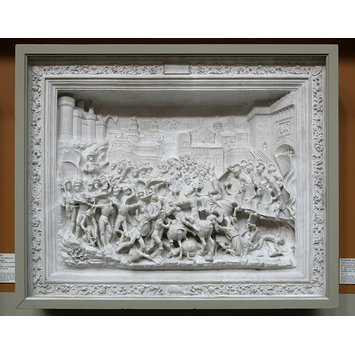 Plaster cast - The Battle of Brescia