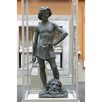 Plaster cast - David with the Head of Goliath