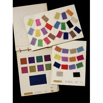 Dress fabric sample card - Mancha
