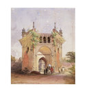 Gateway to the Nawab Baree - Dacca (Painting)