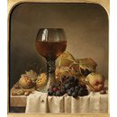Still Life: Fruit and Goblet (Oil painting)