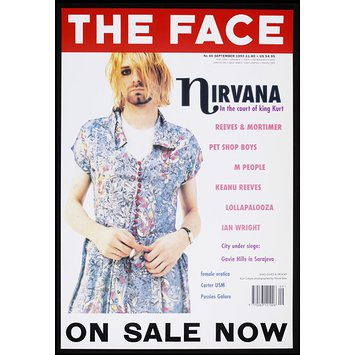 Poster - The Face. Nirvana. In the court of King Kurt