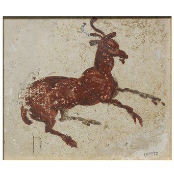 Fresco fragment - A Goat