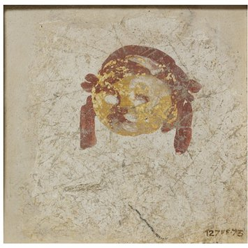 Fresco fragment - Fruit