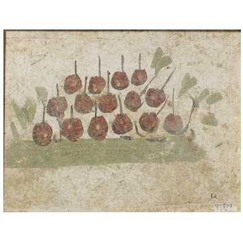 Fresco fragment - Fruit piled on the ground