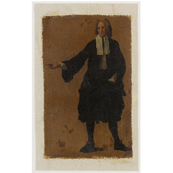 Oil painting - A Man, Perhaps a Lawyer