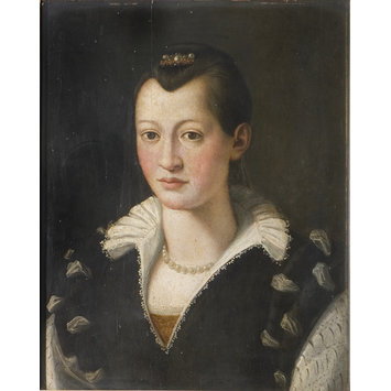 Oil painting - Portrait of Isabella de Medici
