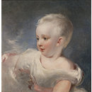 Portrait of a young child (Oil painting)