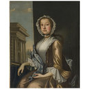 Elizabeth (1727-1782), Wife of Thomas Nickleson (Oil painting)