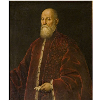 Oil painting - Portrait of a Procurator of St. Mark's, Venice