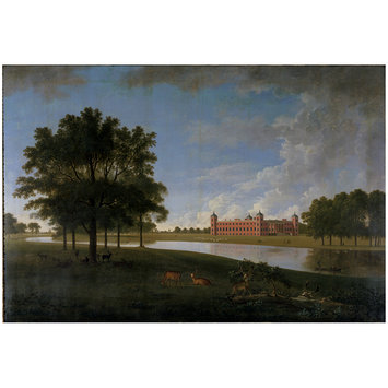 Oil painting - View of Osterley Park from the East