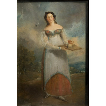 Painting - Maria Rebecca Davison as Juliana in <i>The Honey Moon</i> by John Tobin
