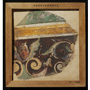 Decorative Pattern (fragment of wall decoration) (Fresco)