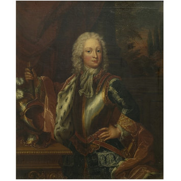 Oil painting - Frederick Louis, Prince of Wales