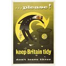 … please! Keep Britain tidy (Poster)