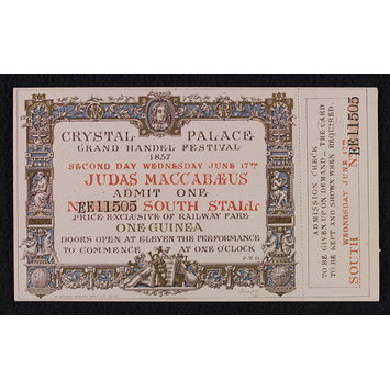 Admission Ticket - Judas Maccabaeus