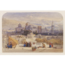 Jerusalem from the Terrace of the Latin Convent (Watercolour)