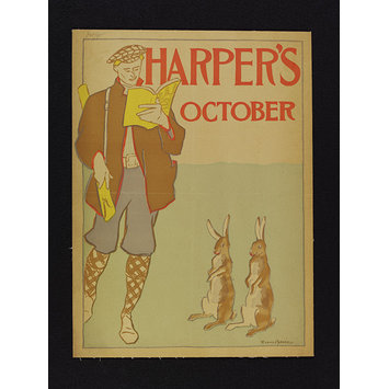 Poster - Harper's October
