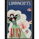 Lippincott's [July 1895] (Poster)