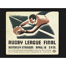 Rugby league final (Poster)