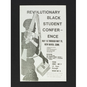 Poster - Revolutionary Black Student Conference