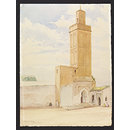 Mosque of Sidi Said bou Othman, Meknes (Watercolour)