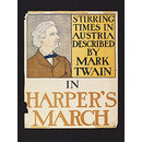 Harper's March - Stirring Times in Austria described by Mark Twain (Poster)