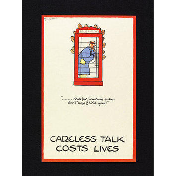 Poster - Careless Talk Costs Lives
