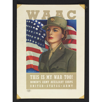Poster - WAAC - This is my war too!