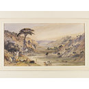 Landscape near Algiers (Watercolour)