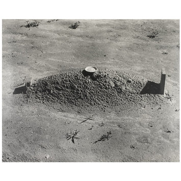 Photograph - Sharecropper's grave