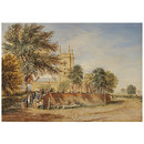 Handsworth Old Church (Watercolour)