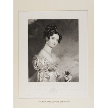 Print - Lady Selina Meade Countess Clam-Martinics