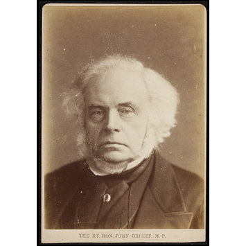 Photograph - The R. T. Hon. John Bright M.P