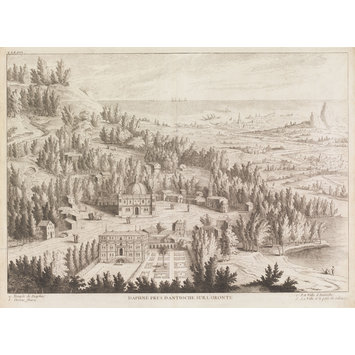 Etching and engraving - Daphné Près D'Antioche Sur L'Oronte
