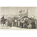 Introduction Of British Sports Into Cyprus (Wood engraving)